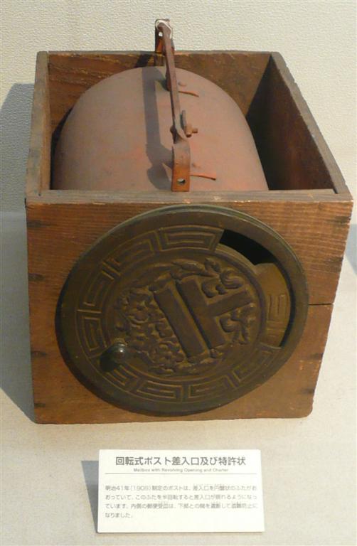 回転式ポスト差し入れ口(1908年)