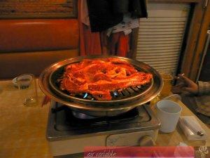 前回の韓国出張で食べた焼肉