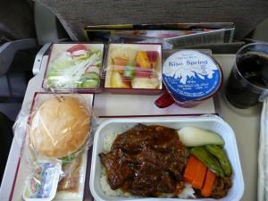 アシアナ航空の機内食うまい