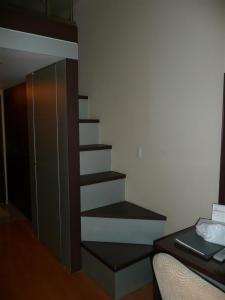 ロフトまでの階段