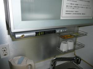 台所にラジオ