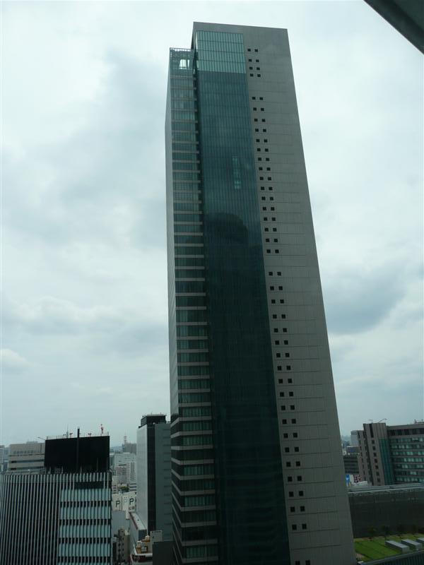 JRセントラルタワーズから観たミッドランドスクエア