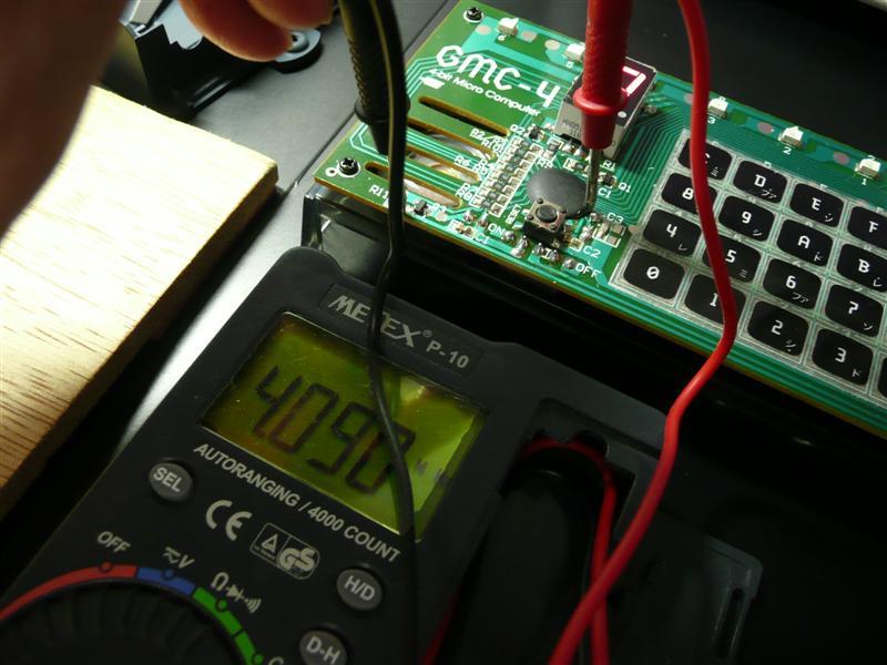大人の科学Vol.24 METEX P-10で発振周波数を測る