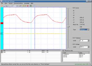 3.3V時の発振 約204Hz