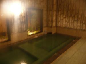 貸切状態の温泉