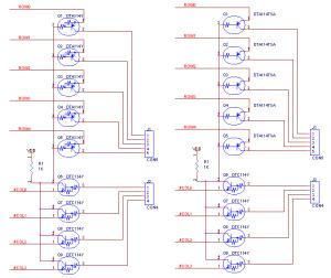 デジタルトランジスターの内部回路で書いた回路図