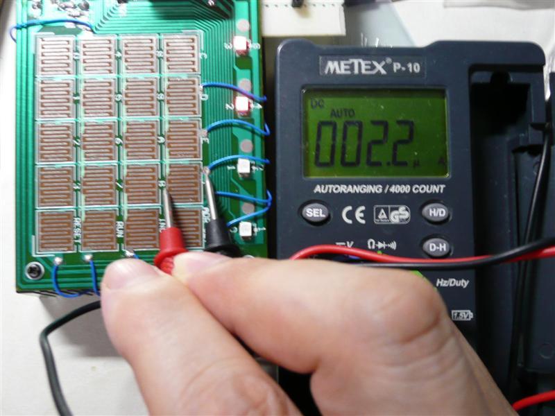 キーに流れる電流はμアンペアオーダーと大した事がない