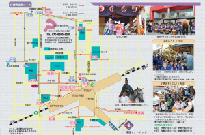 吉祥寺秋祭り2009地図
