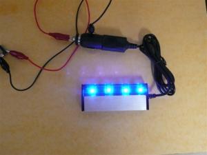 青色LEDが眩し過ぎる