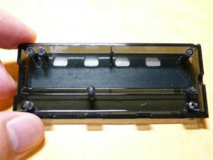 ケースには個別にスイッチを付けられる設計跡がある