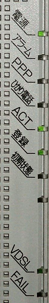 RV0230SEのステータスLED