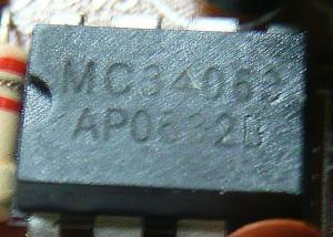 MC34063を使っている