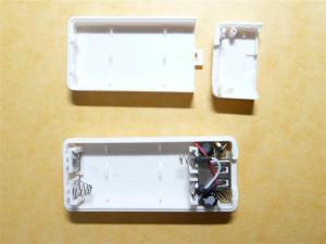 単三2本から5Vを生成する電池ボックスが105円