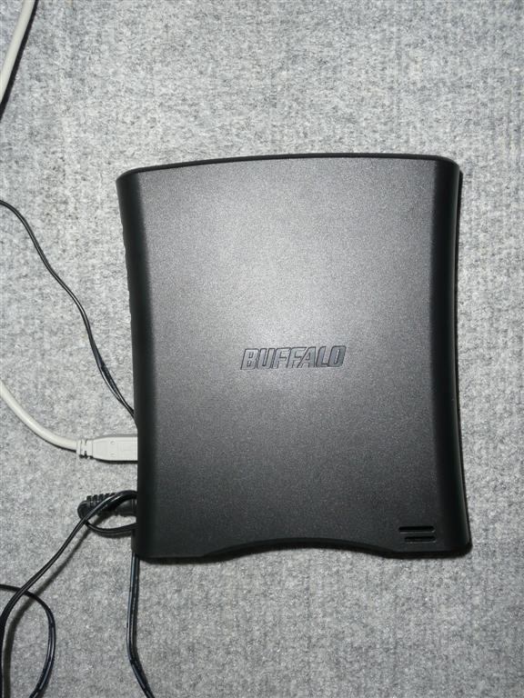外付け1テラバイトハードディスクに丸ごとバックアップ