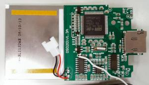 TFT液晶は両面テープで基板と固定されている