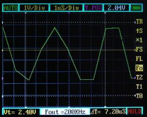 200KHz/DT50%/1:1 付属プローブ