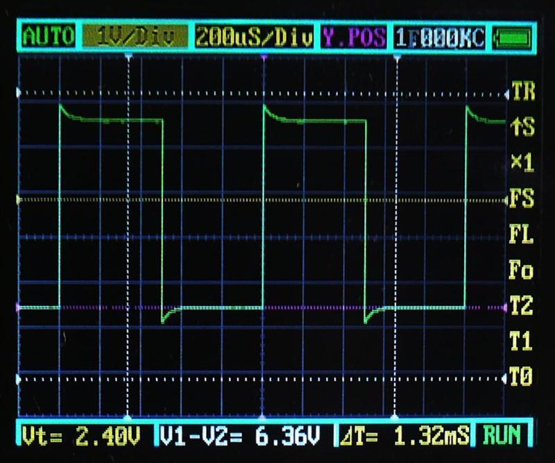 1KHz/DT50%/1:1 付属プローブ