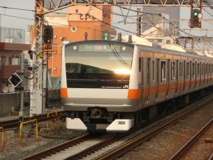 長年利用した通勤電車