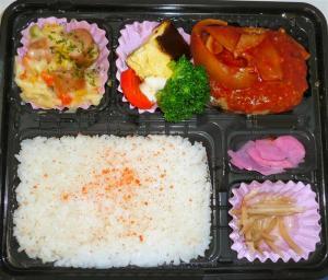 今日の昼食 380円弁当