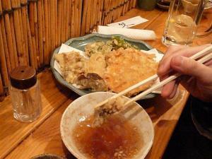 小腹が空いていたら、天ぷらが安くてオススメ