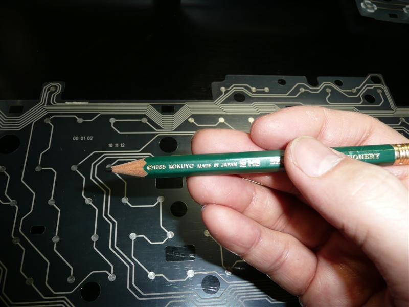 ごく普通にあるHBの鉛筆