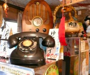 この電話機はまだ現役でつかっていた