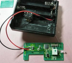電池の配線