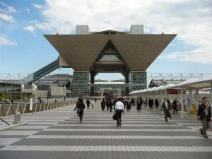 ESECを見学に東京ビッグサイトへ