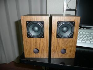 コイズミ無線「ダイトーボイスSV-761」に付録スピーカを組付