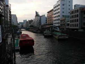 浅草橋(柳橋からの眺め)