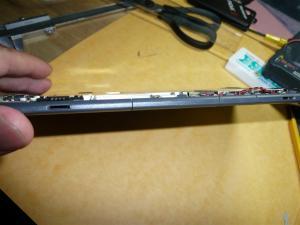 コネクター部分の上の方が外付け照明用5V、下がメンテナンスポート(?)