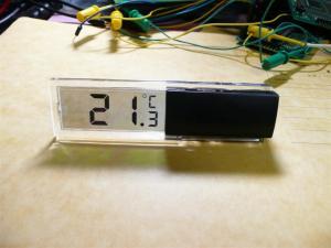 100均で売っている温度計