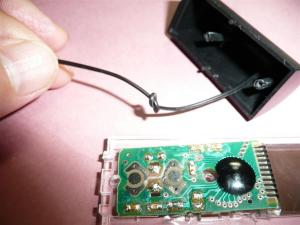センサー部分のコード処理