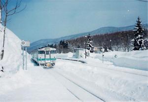1999年2月の時の塩狩峠