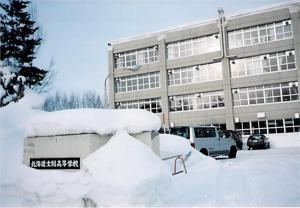 士別高校(1999年2月撮影)