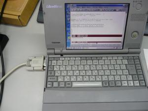 リブレット20を改造してシリアルポート追加
