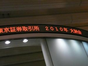 大納会の電光掲示板