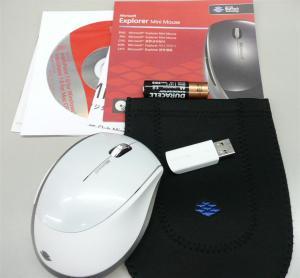 マイクロソフト ブルートラック マウスExplorer Mini Mouse