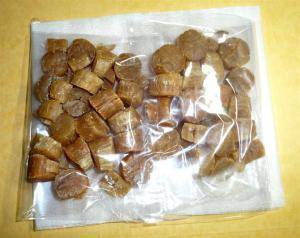 干しホタテ貝とえびを贅沢に使った炊き込みご飯を作ってみた