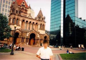 1997年ボストンに行った時の写真