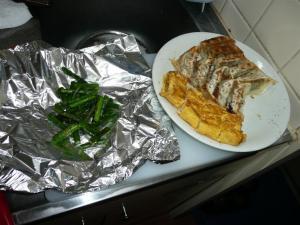 久々の弁当を作る