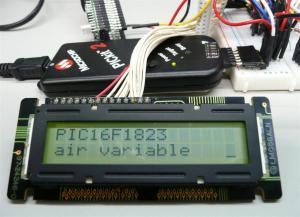 LCDシリアルPIC16F1823に対応