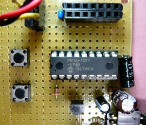 PIC16F88のプログラムをPIC16F1827に移植してみる