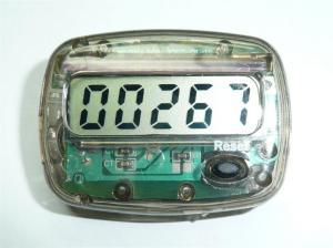 100均の歩数計(万歩計)を計数器に改造