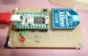 XBeeを一般の安価な基板で製作