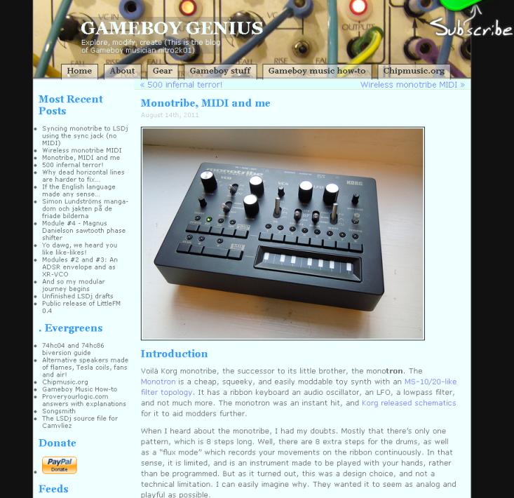 monotribeを無線MIDI化してみた