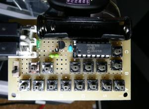ミニMIDI鍵盤を作ってみた