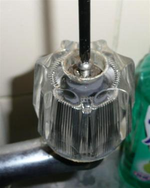 蛇口の水漏れの修理
