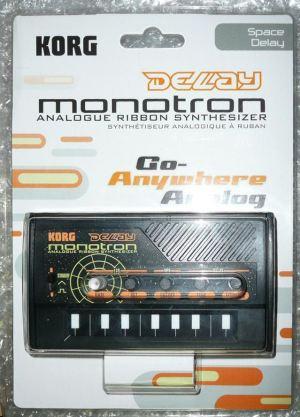 KORG monotron DELAY (コルグ モノトロン デイレィ) 到着