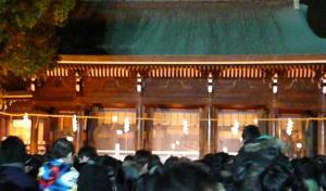 2012年 明治神宮で初詣